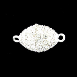 Magnetic Bling Clasp Oval Large