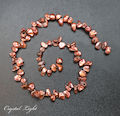 Copper Keshi Pearl Beads