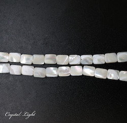Shell and Pearl Beads: Mother of Pearl Shell Beads