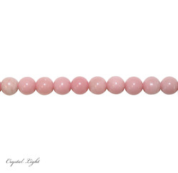 Round Beads: Pink Opal 10mm Beads